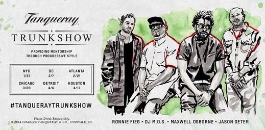 Tanqueray Trunk Show